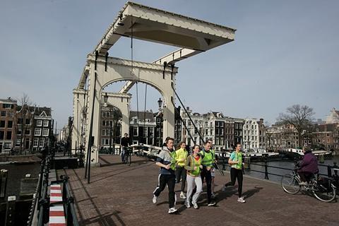 2566c49046de9a Tourist Run is een bezienswaardigheid in Amsterdam