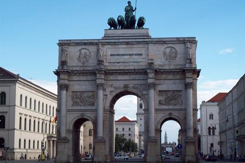 Foto Stadspoorten van München credit: Wikipedia - Ogmios