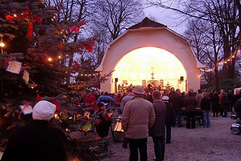 Weihnachtsmarkt Bad Iburg.Kerstmarkt Bad Rothenfelde In De Buurt Van Osnabrück Cityzapper