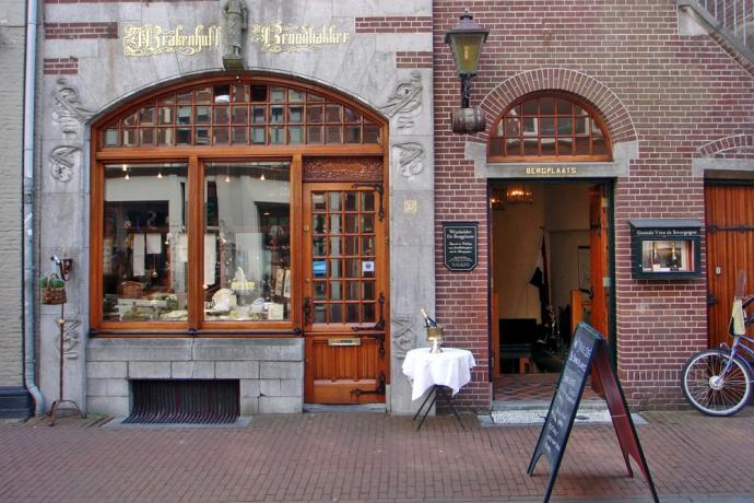Foto van de koningsstraat in Haarlem   credit: Originele foto door dodvan Flickr