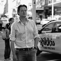 Foto van Christian Clerx, uitgever van CityZapper. Foto: Stefan Marcel Gerard