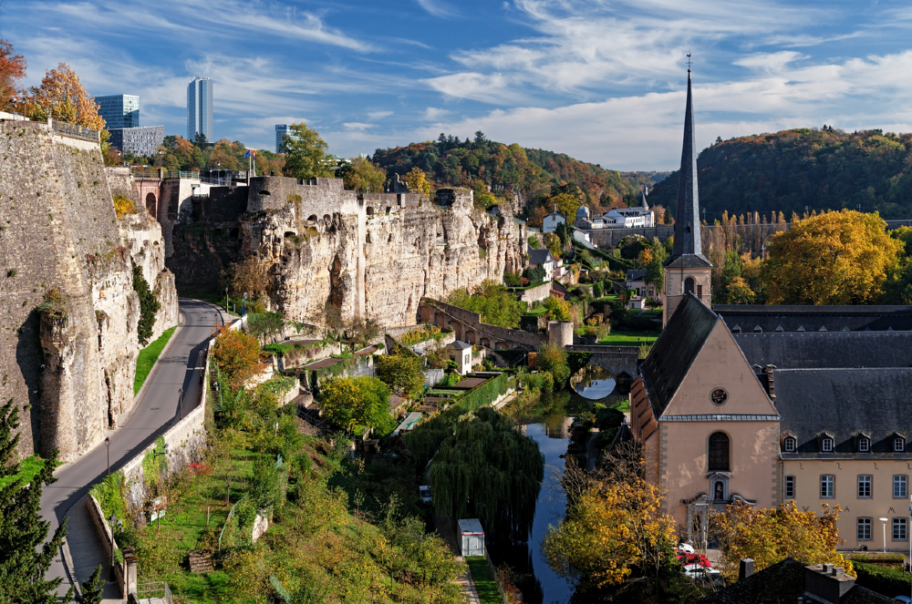 Luxemburg heeft een prachtige diverse stad