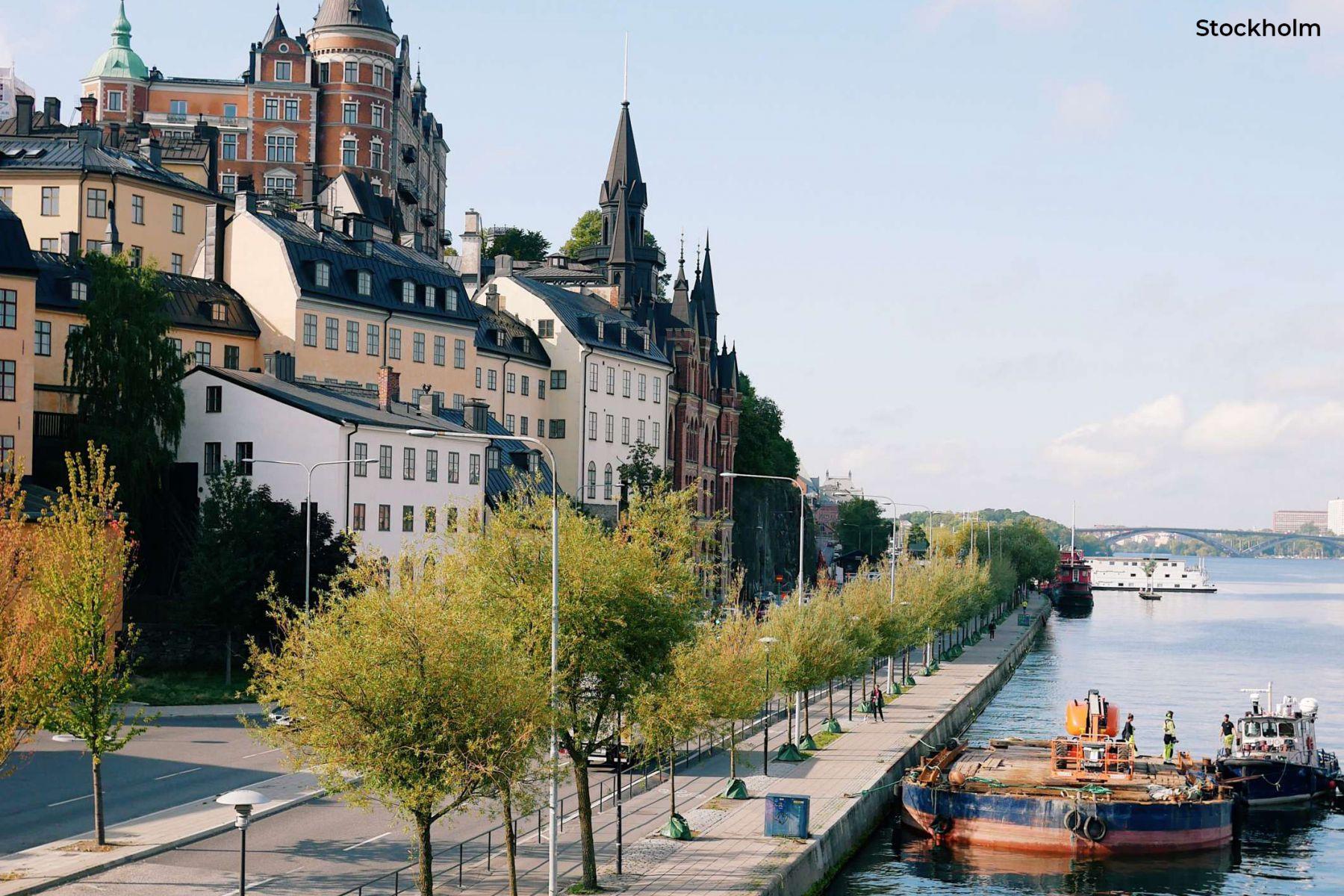 Foto van Stockholm Beeld: Visit Stockholm
