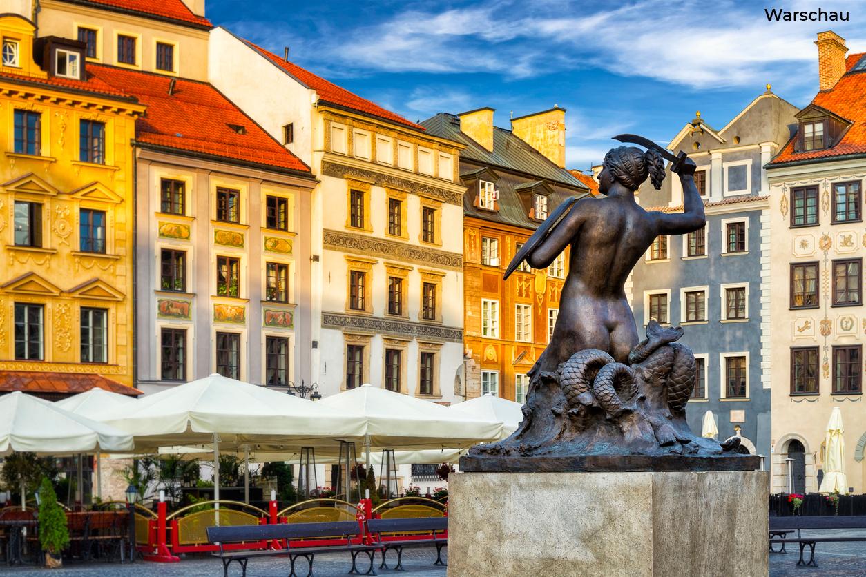 Foto van Warschau Beeld: ewg3D (iStock)