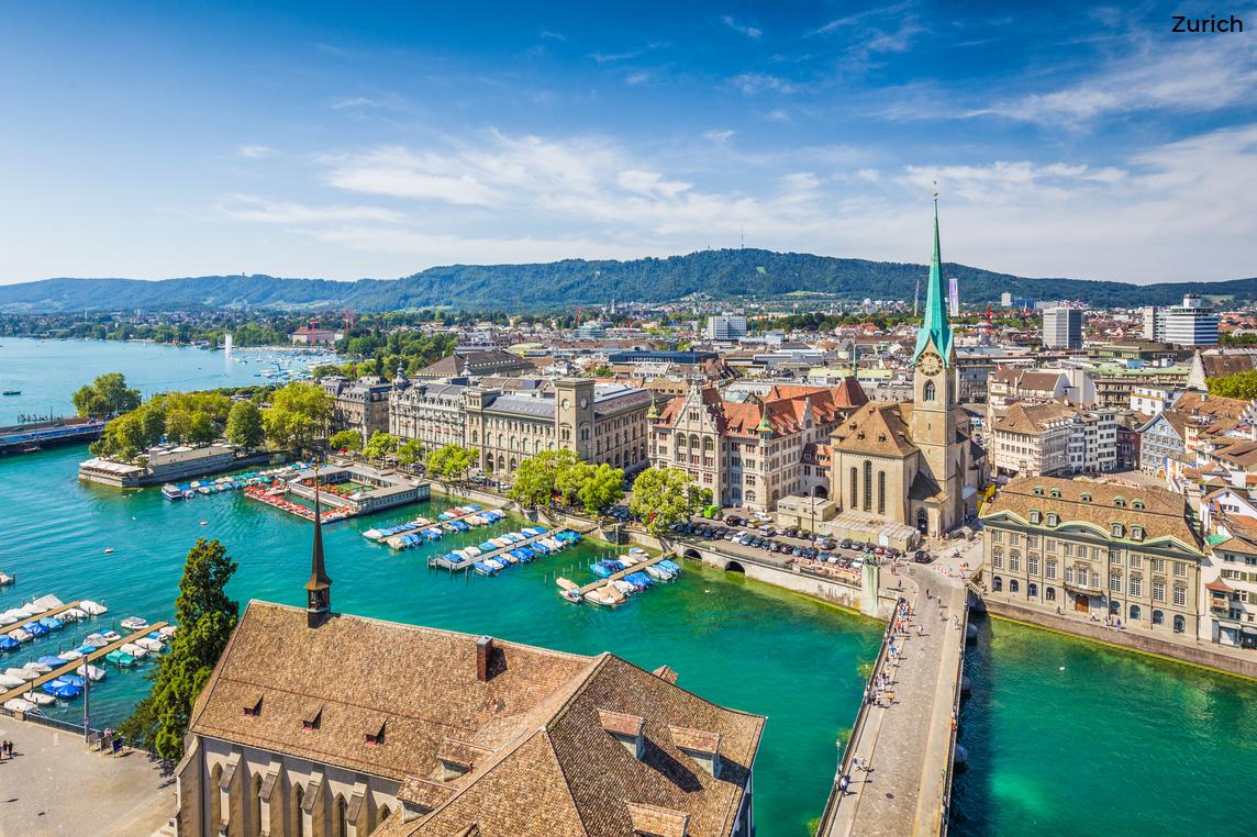 Foto van Zürich Beeld: bluejayphoto (iStock)