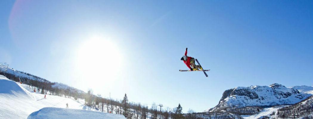 Foto skigebied Hemsedal Noorwegen