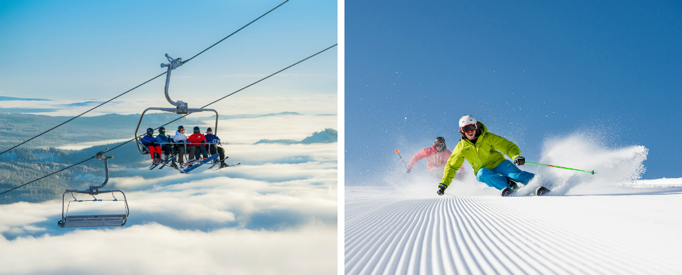 Foto van het Noorse skigebied Trysil