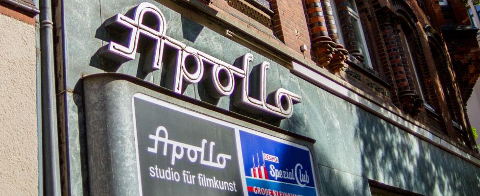 Foto van de Apollo Kino in Hannover - Foto door Isabell Adolf