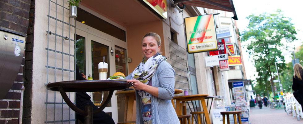 Foto van het restaurant Bei Jacqueline in Linden, Hannover - Foto door Isabell Adolf