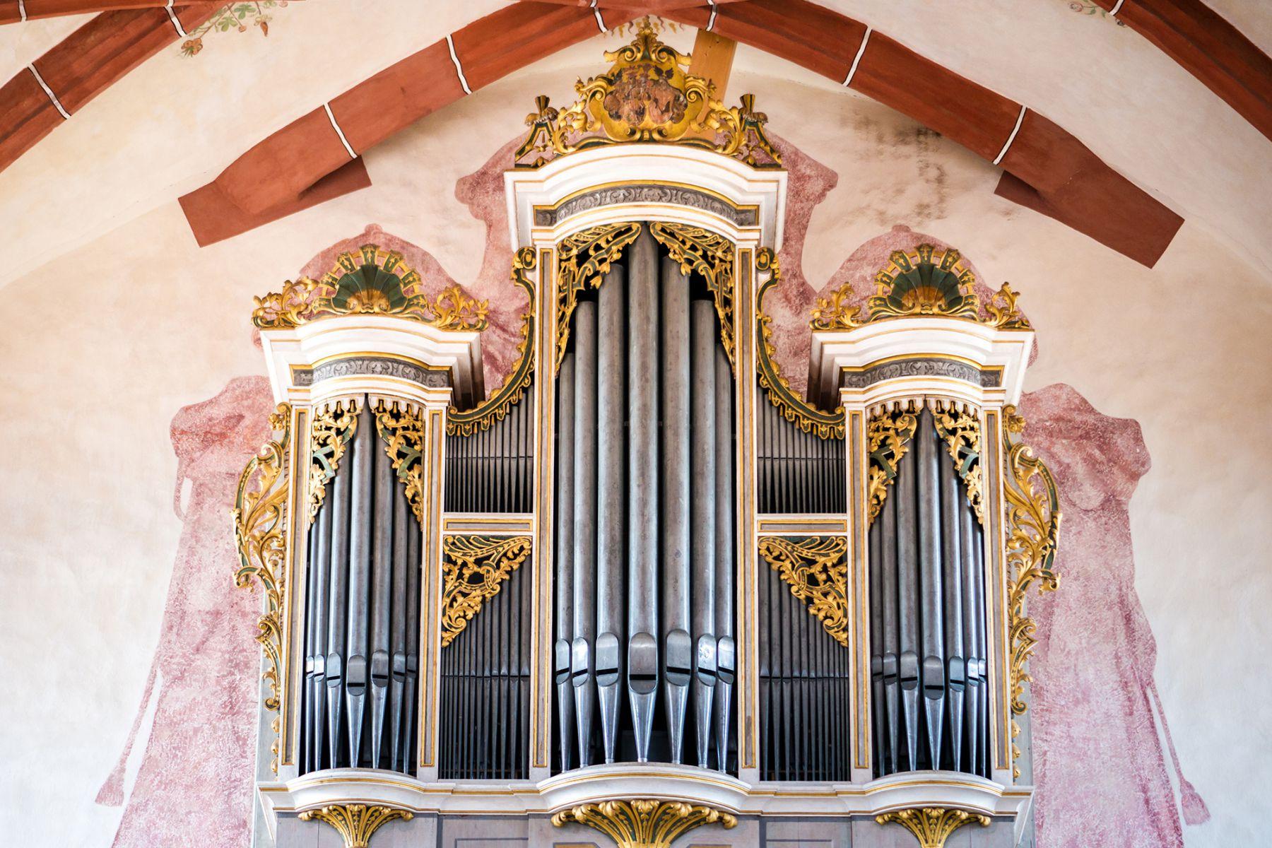 Foto van het Silbermann-Orgel in de St. Marienkirche in Rötha | Foto: Dr. Dieter Wadewitz