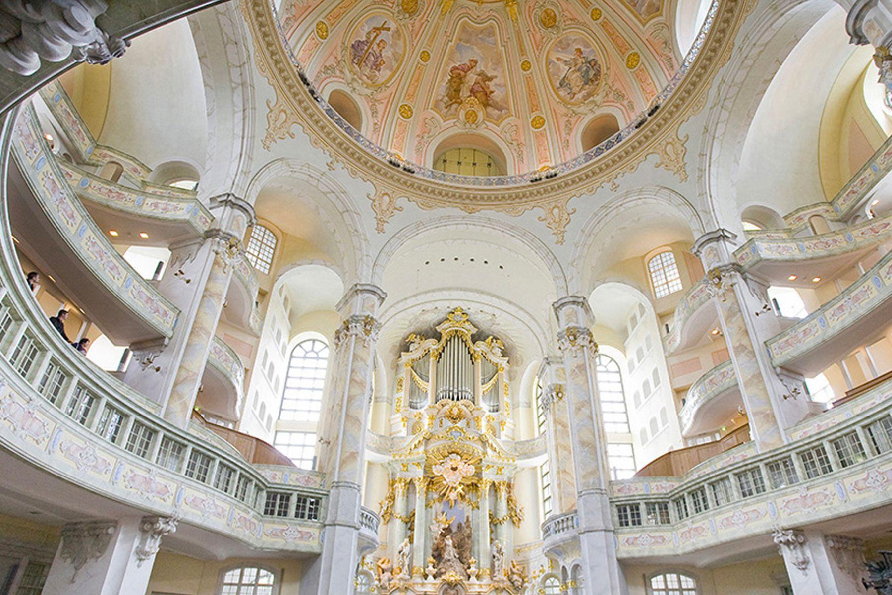 De barokke Frauenkirche