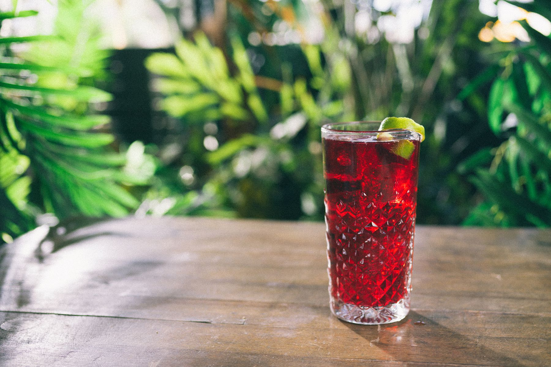 Spiced Cherry Cocktail