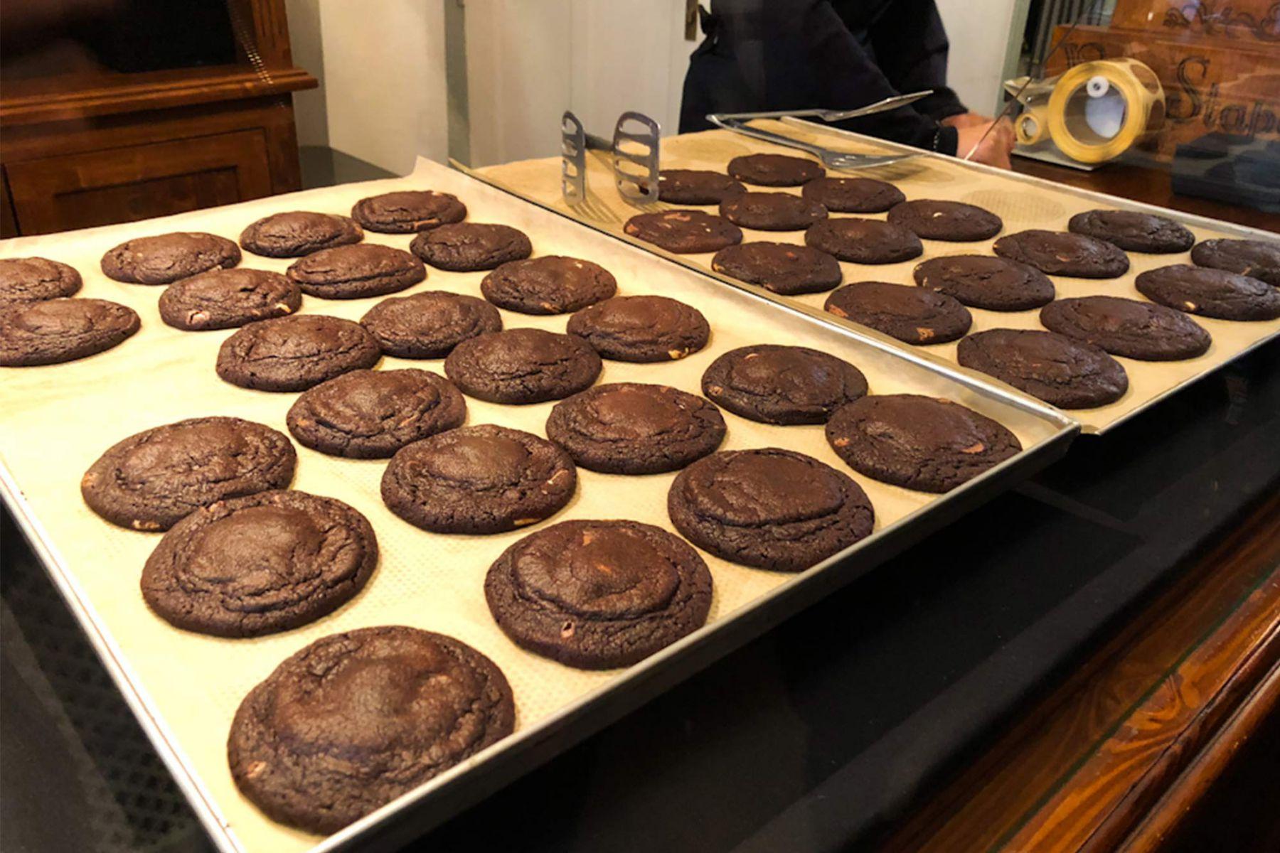 De heerlijke chocolade koeken van Van Stapele