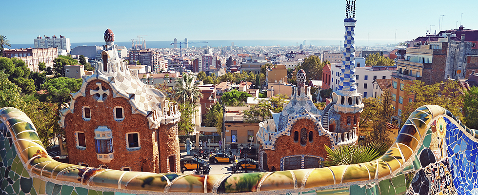 Foto van Barcelona in Spanje - Thinkstock