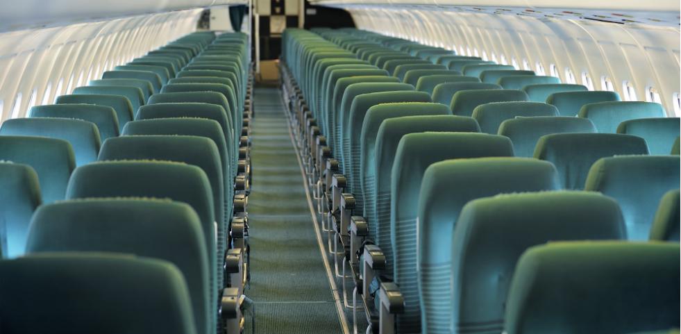 Photo of airplane chairs- Credits: lillophoto (ThinkStock)