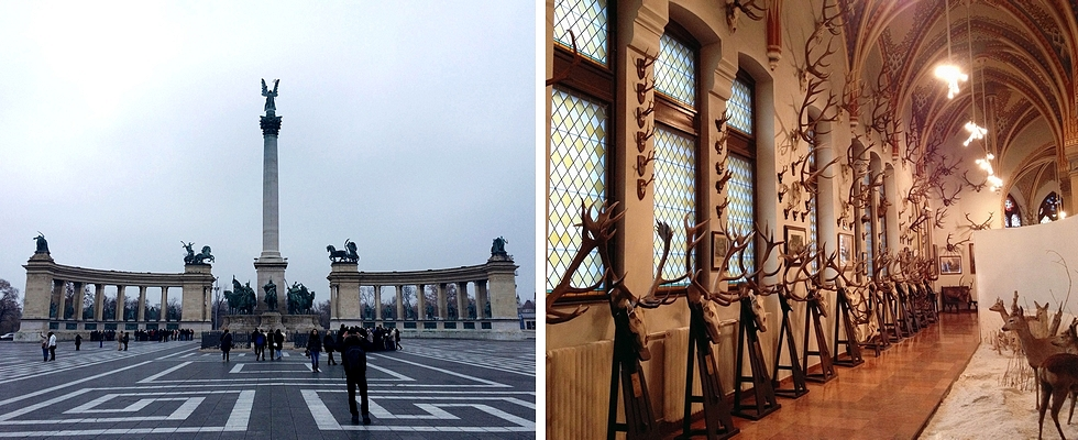 Foto: Heldenplein en Magyar Mezogazdasagi Muzeum - Credits: Trang Nguyen Mai en Lynn Zomer