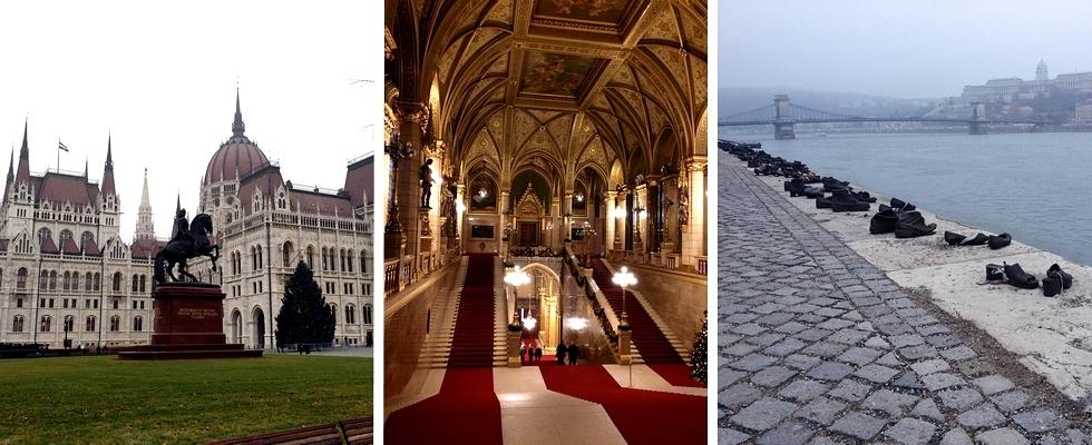 Foto: Het Parlement en de Donau - Credits: Trang Nguyen Mai en Lynn Zomer
