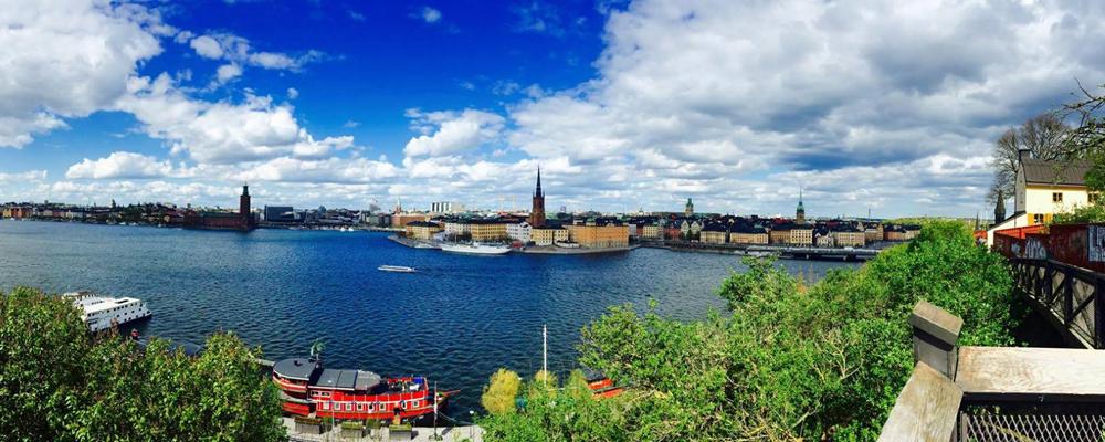 Photo: Panorama of Stockholm. Credits: Bianca van der Ham - CityZapper