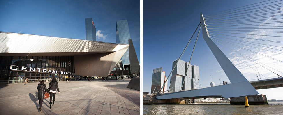 Photo of architecture in Rotterdam - CreditsClaire Droppert (Rotterdam Image Bank)