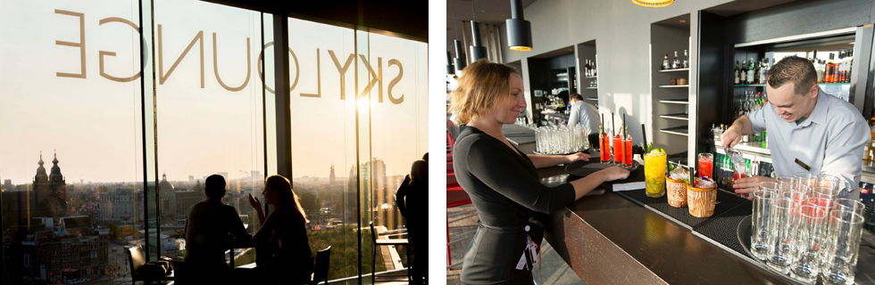 Photo of bar sky lounge in Amsterdam Credits: Facebook SkyLounge