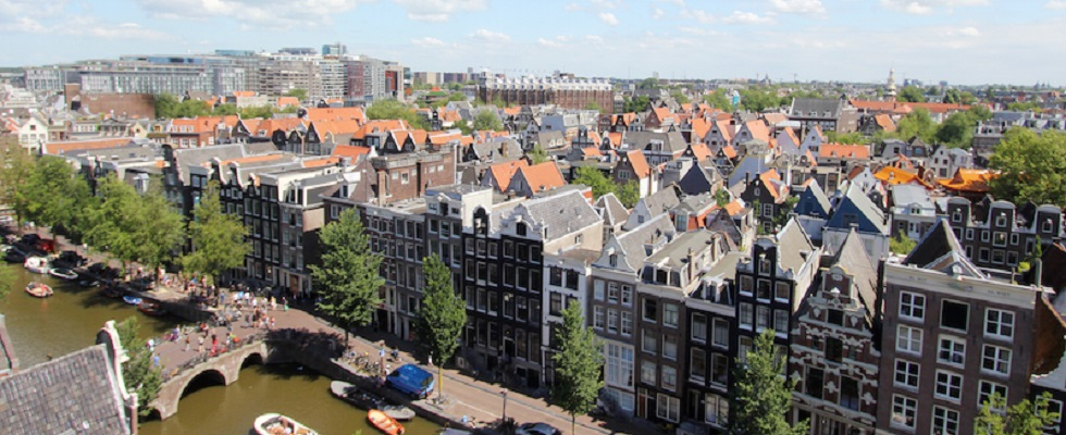 Foto: view from the Oude Kerk - Credits: Deepa Paul