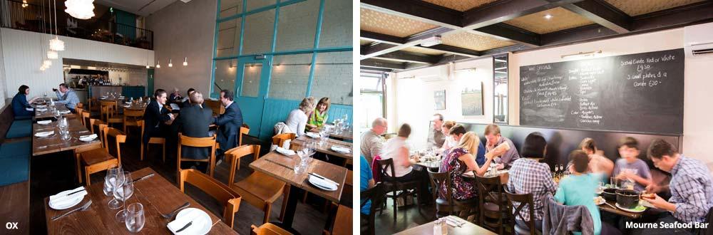 Foto van restaurants in Belfast - Ox en Mourne Seafood Bar