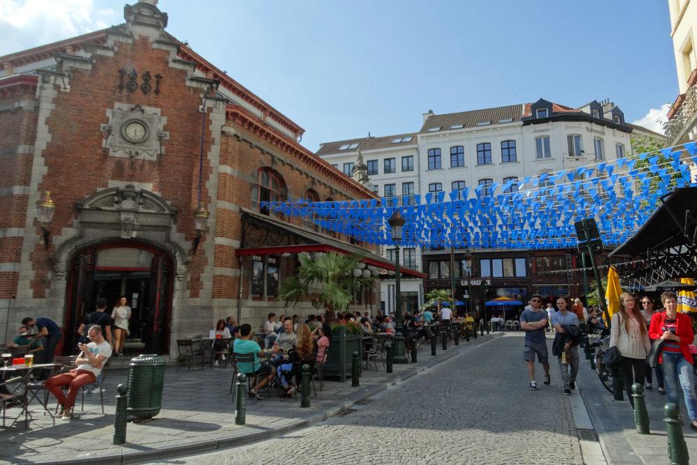 Photo: Place St-Gery Brussels Credits: Amanda de Graaf