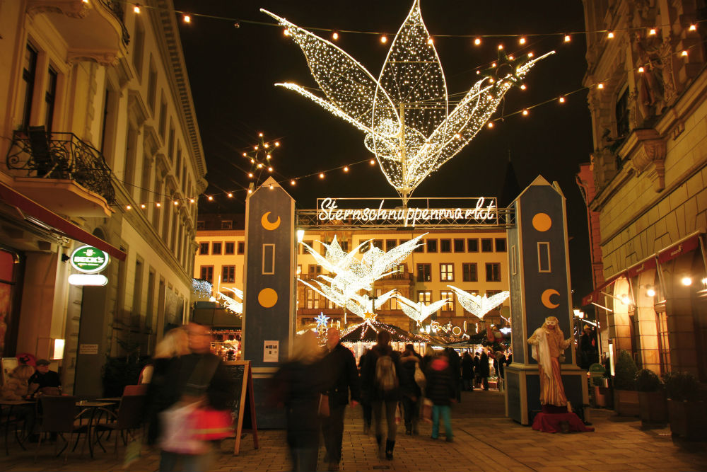 Sternschnuppenmarkt in Wiesbaden Credits: wiesbaden Tourismus