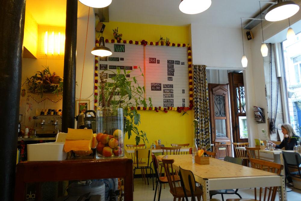 Foto van koffie en lunch adres Yet in Brussel Credits: Cityzapper - Amanda de Graaf