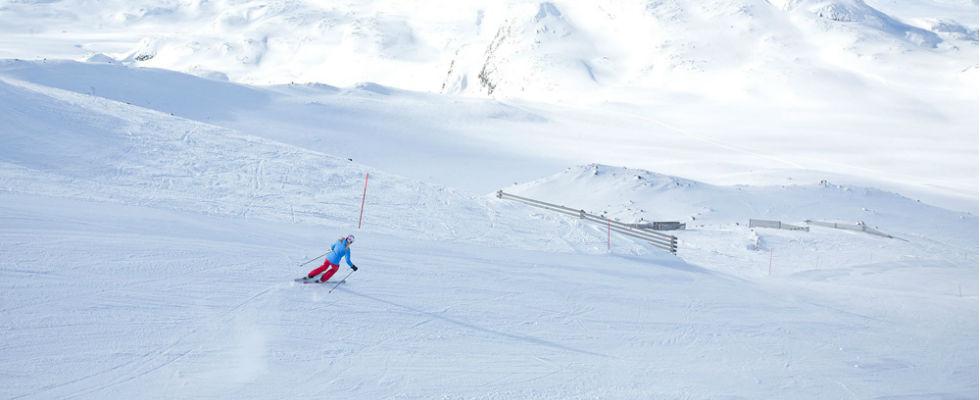 Foto: Skigebied in Noorwegen Hemsedal