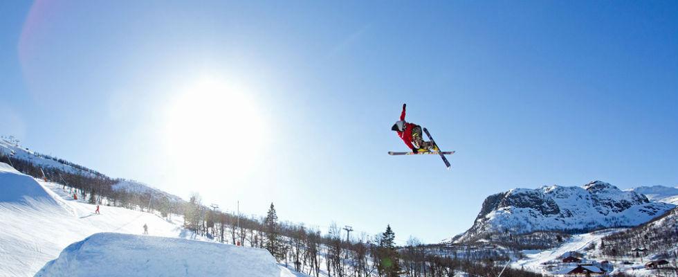 Foto: skigebied Hemsedal in Noorwegen