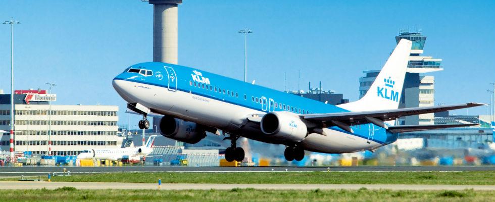Foto: KLM-vliegtuig Credits: KLM