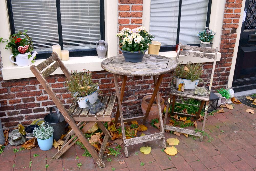 Hofjes in Groningen - beeld: Marjolein Linstra