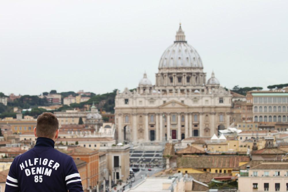 Danny in Rome - beeld: Danny van der Meijden
