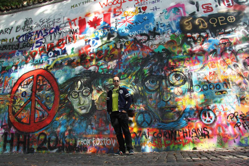 Danny in Praag - beeld: Danny Reizen en Tips