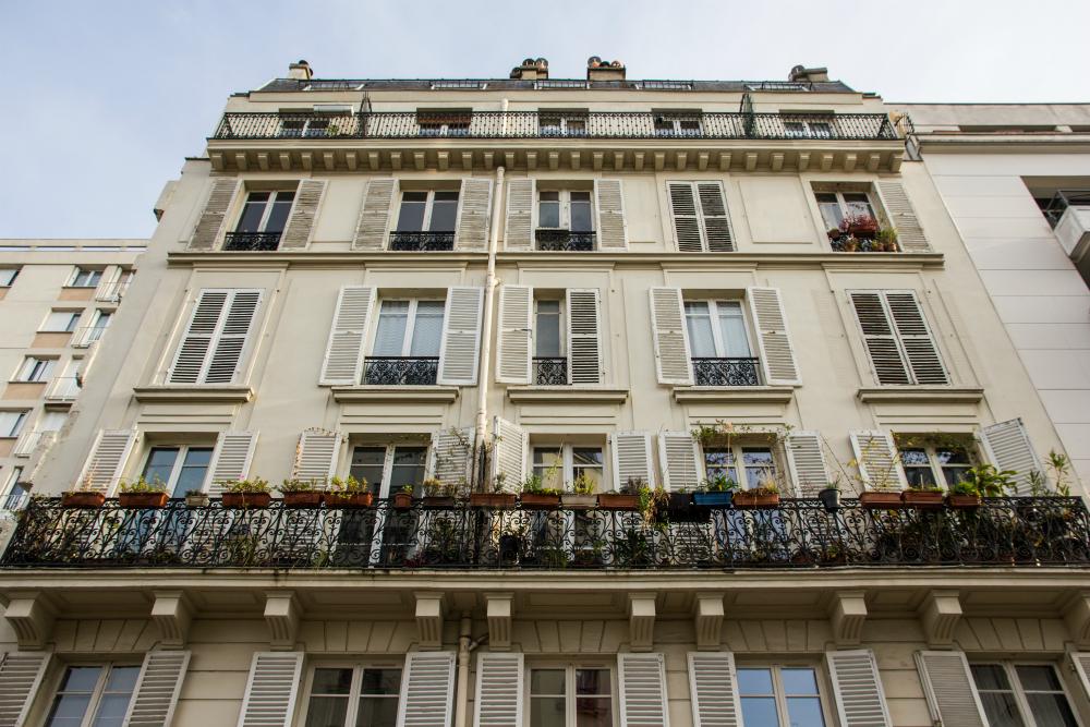 Gebouw in Parijs. Beeld: Stephanie Versteeg