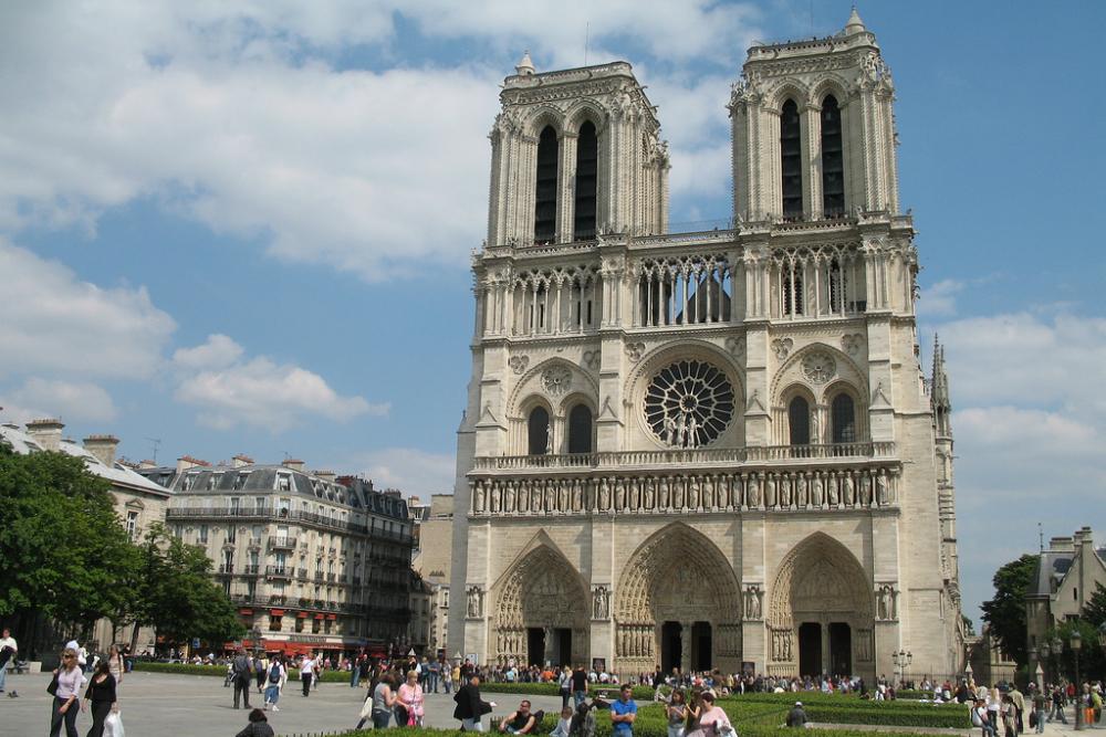 Notre Dame in Parijs. Beeld: Bobby Hidy (Flickr)