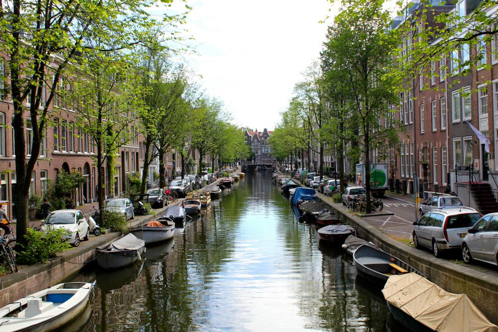 Grachten Amsterdam. Beeld: Marie-Elize van Putten