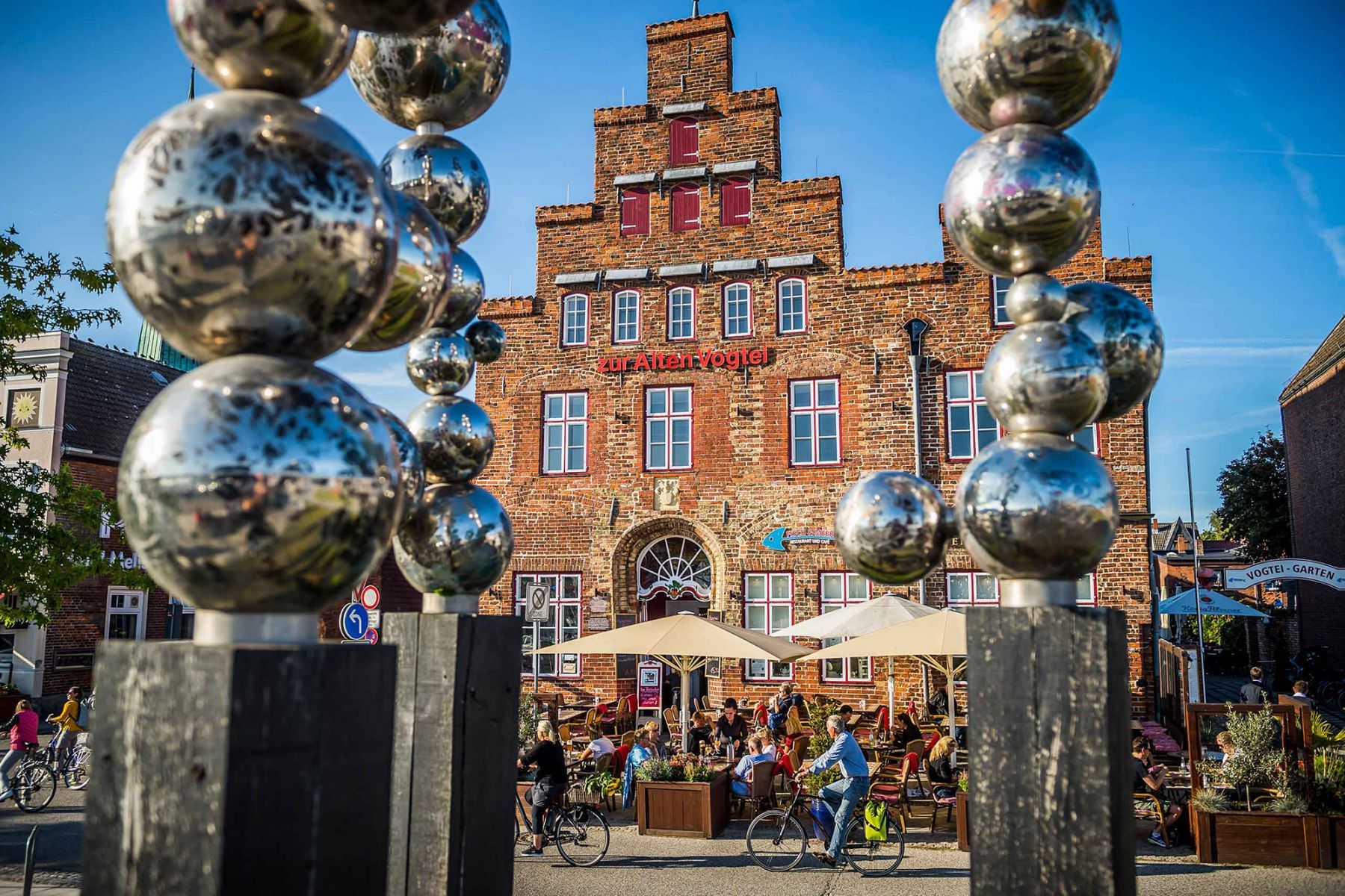 Foto van Alte Vogtei in Travemünde - de ideale break tijdens een stedentrip Lübeck | Fotocredit: Lübeck and Travemünde Marketing GmbH