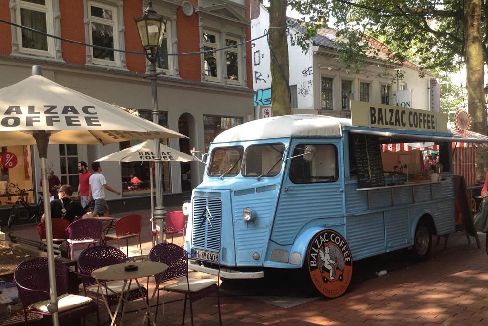 Het leuke koffietentje Balzac Coffee | credit: Balzac Coffee Facebook