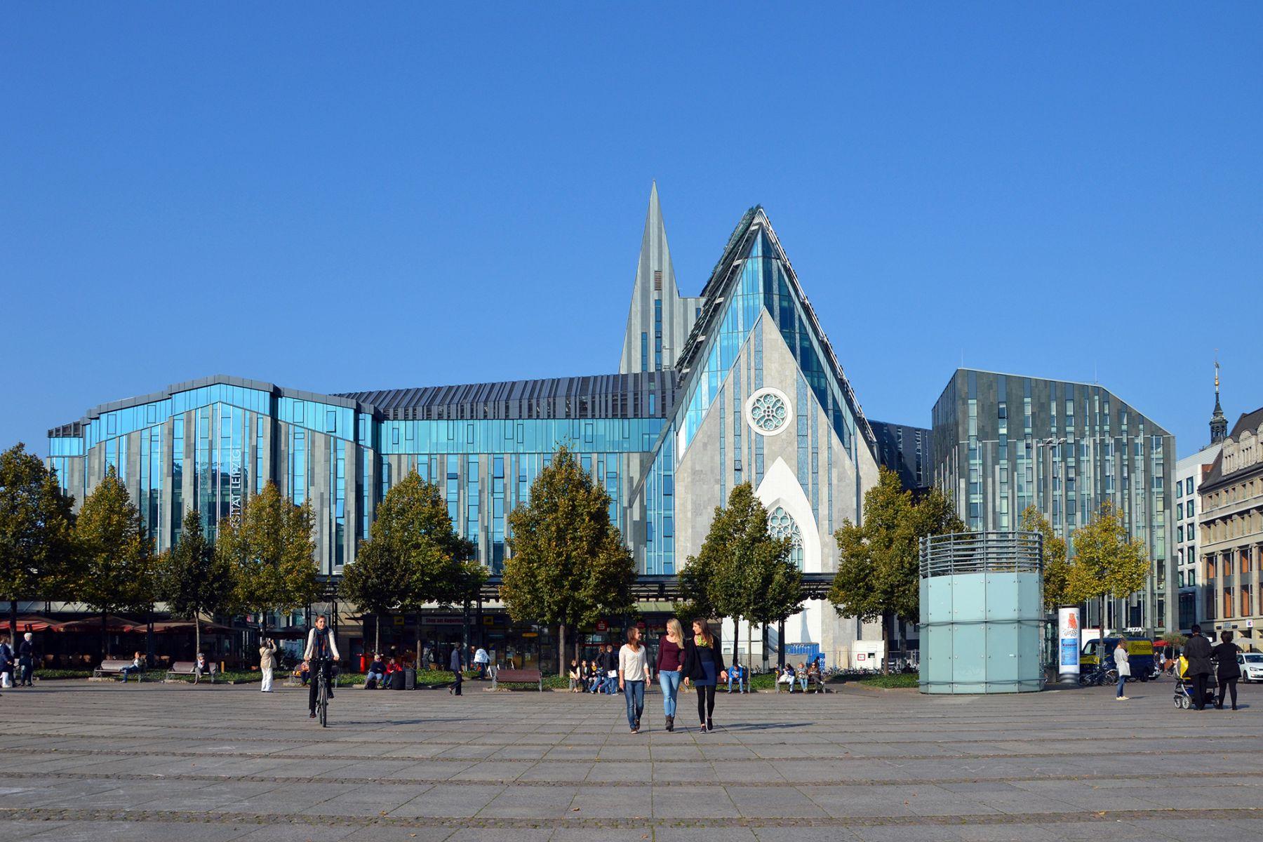 Paulinum Leipzig, aula en universiteitskerk   credit: Leipzig Travel
