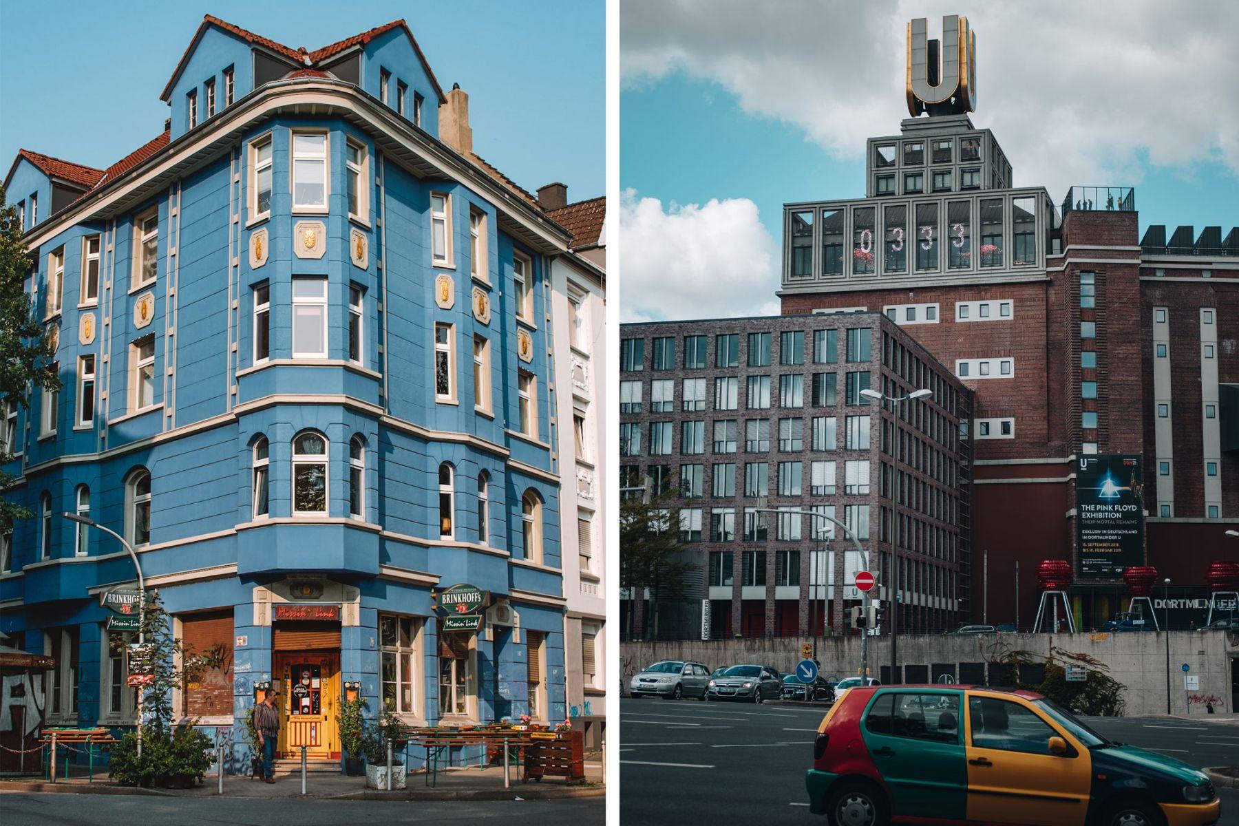 Foto van Kreuzviertel in Dortmund, en het museum Dortmunder U | Credits: Wanderlust.nl & Carsten Behle