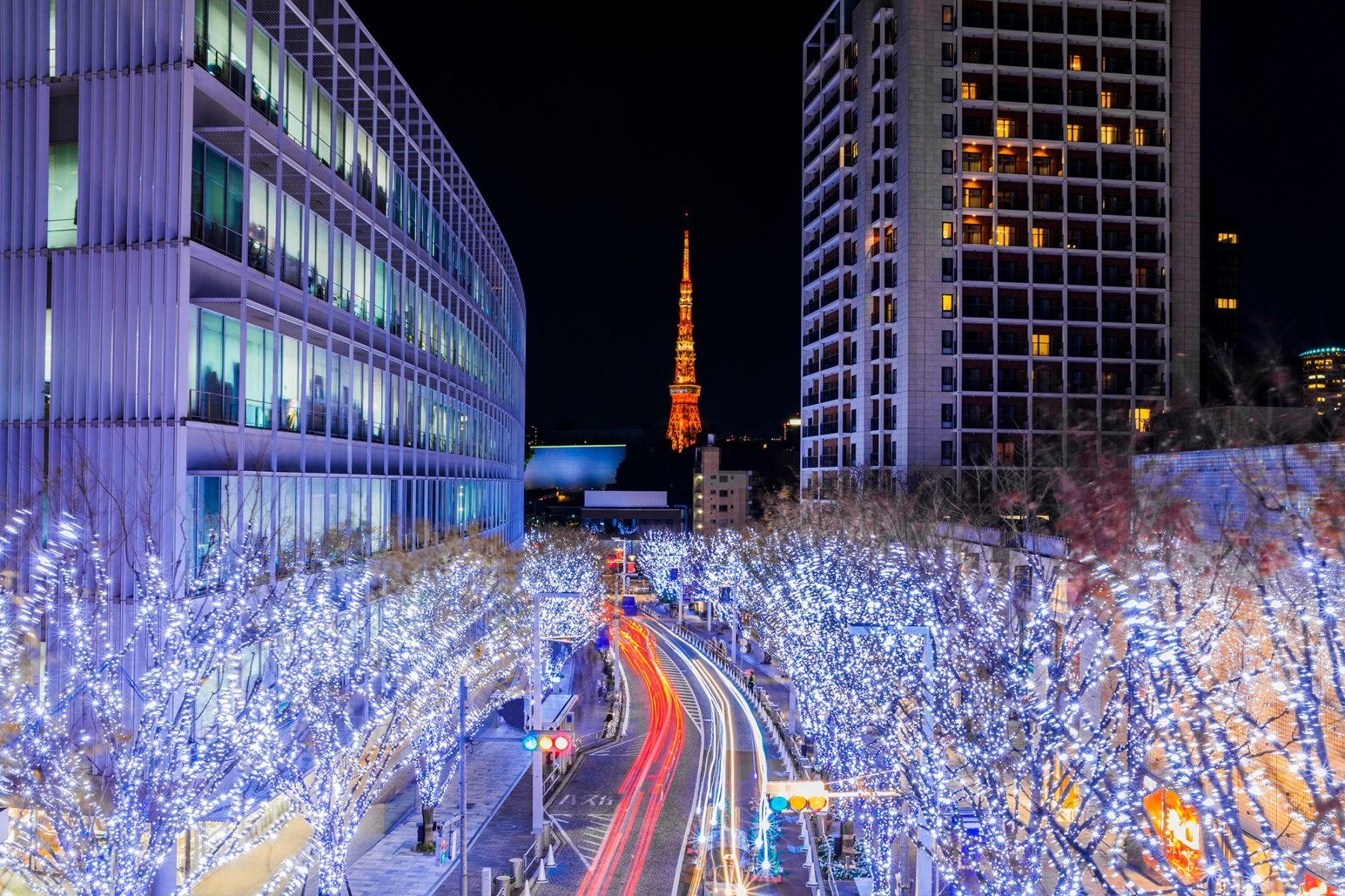 Tokio is tijdens kerst prachtig versierd | Beeld: recep-bg (iStock)