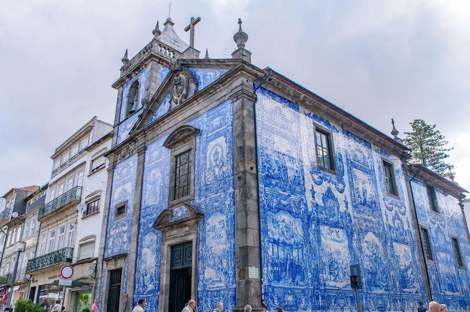 De Chapel of Souls, een kerk in Porto, Portugal