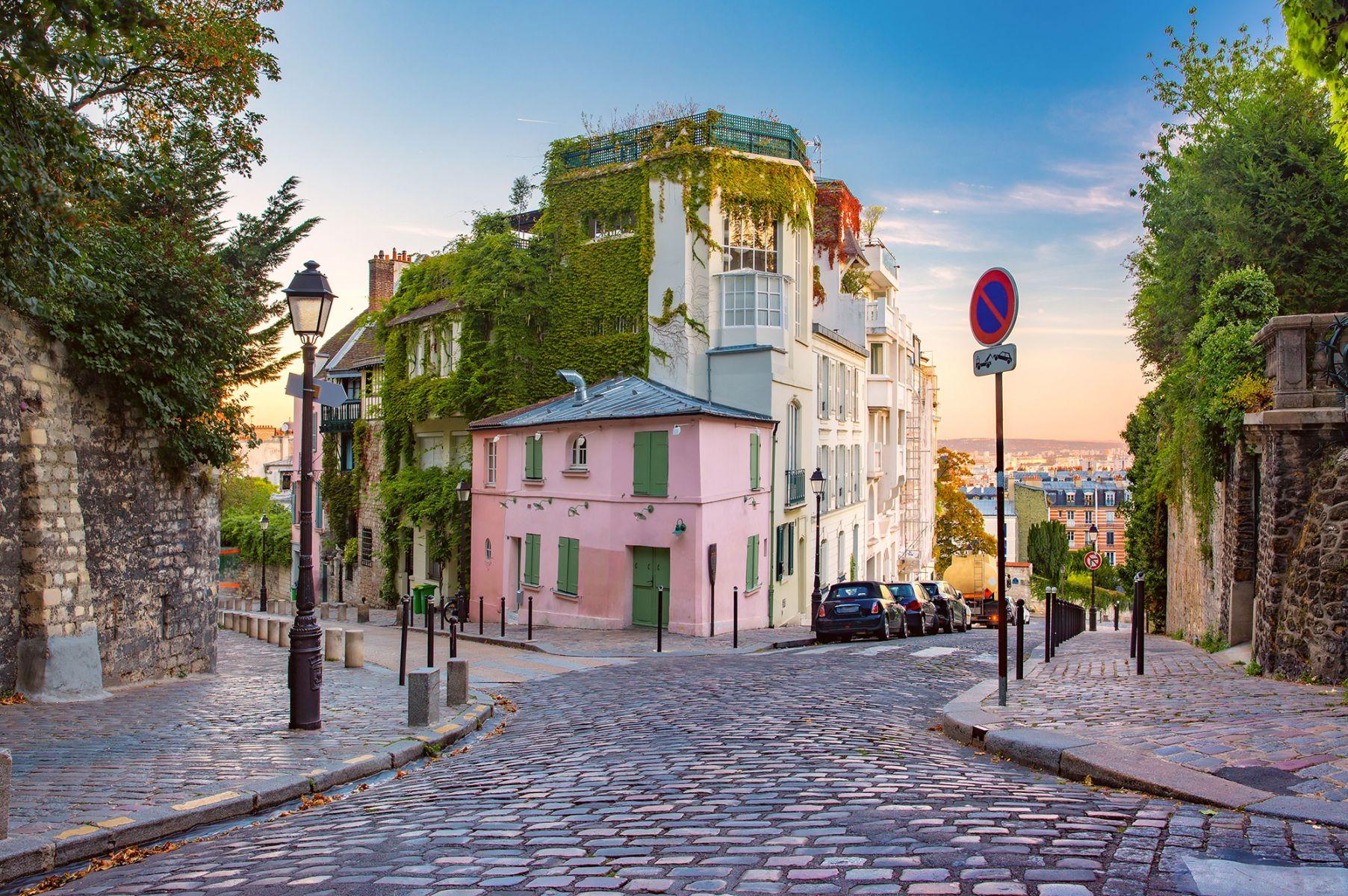De wijk Montmartre