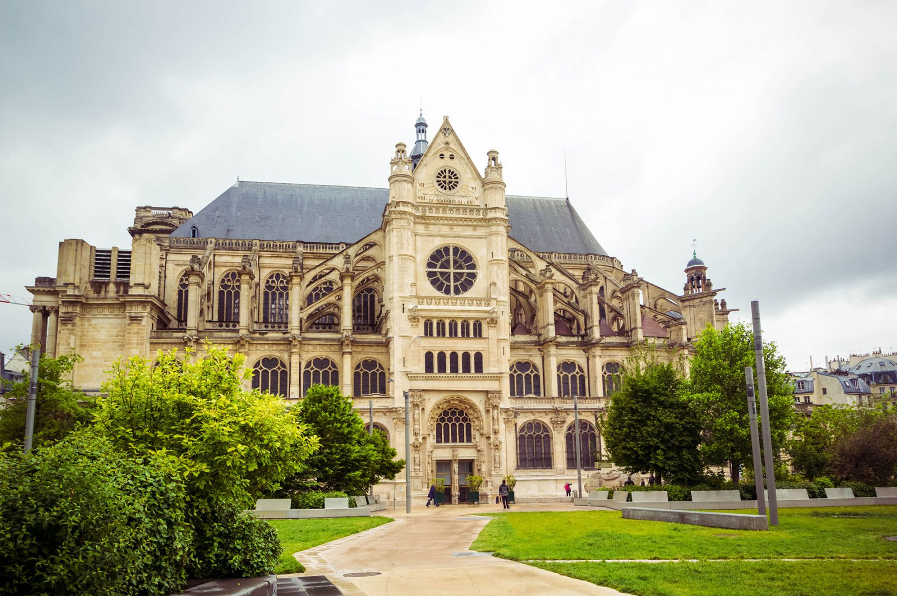 St. Eustache in Parijs