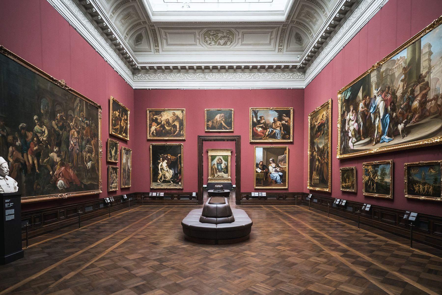 In de Gemäldegalerie Alte Meister zijn veel mooie kunstwerken te bewonderen | Beeld: Sebastian Weingart (DML-BY)