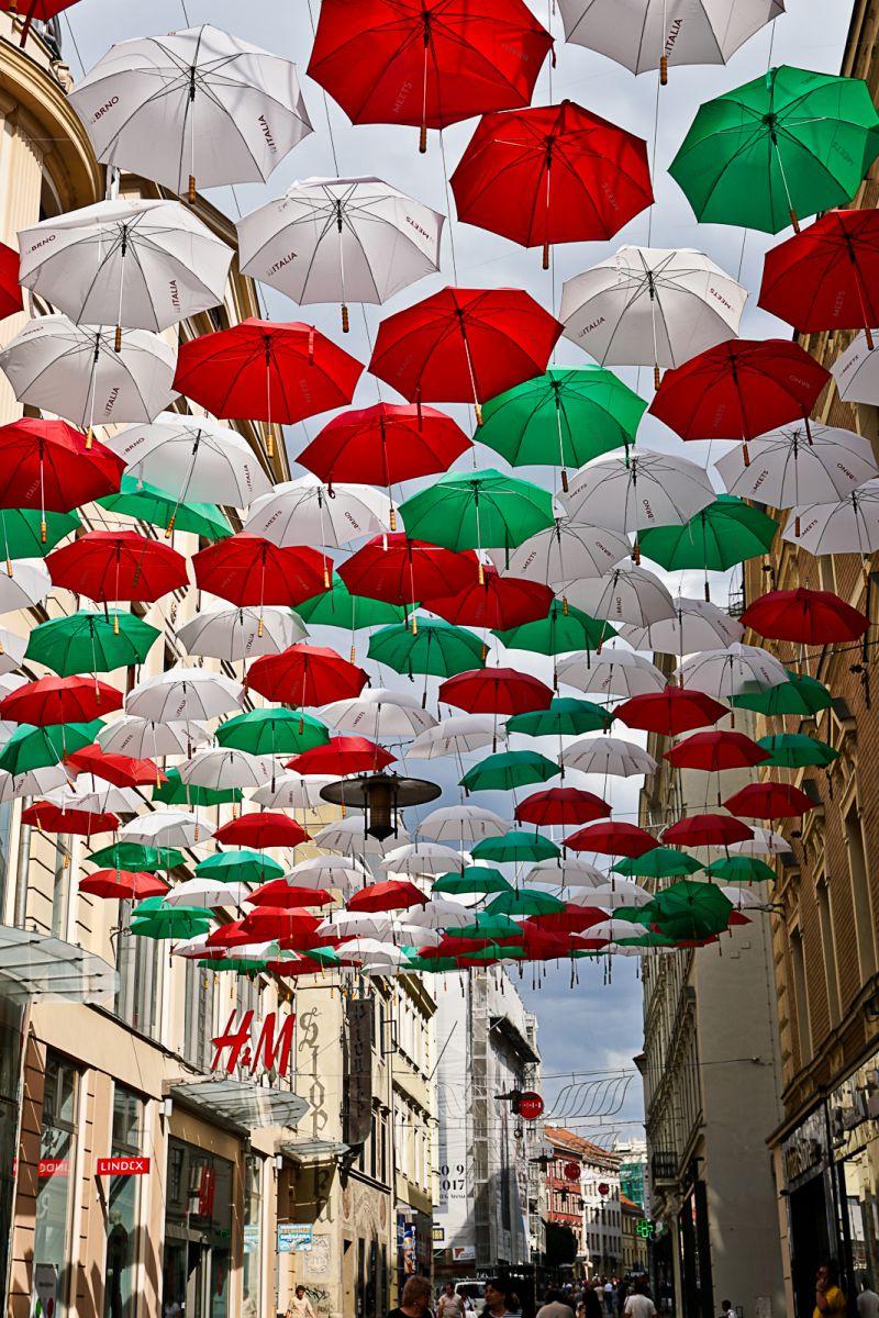 Paraplu's in Brno
