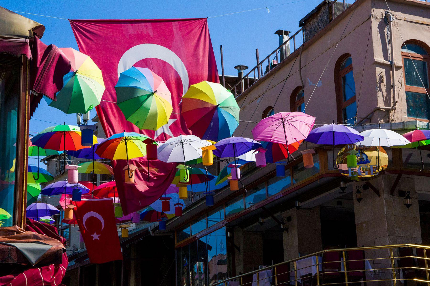 Paraplu's in Istanbul