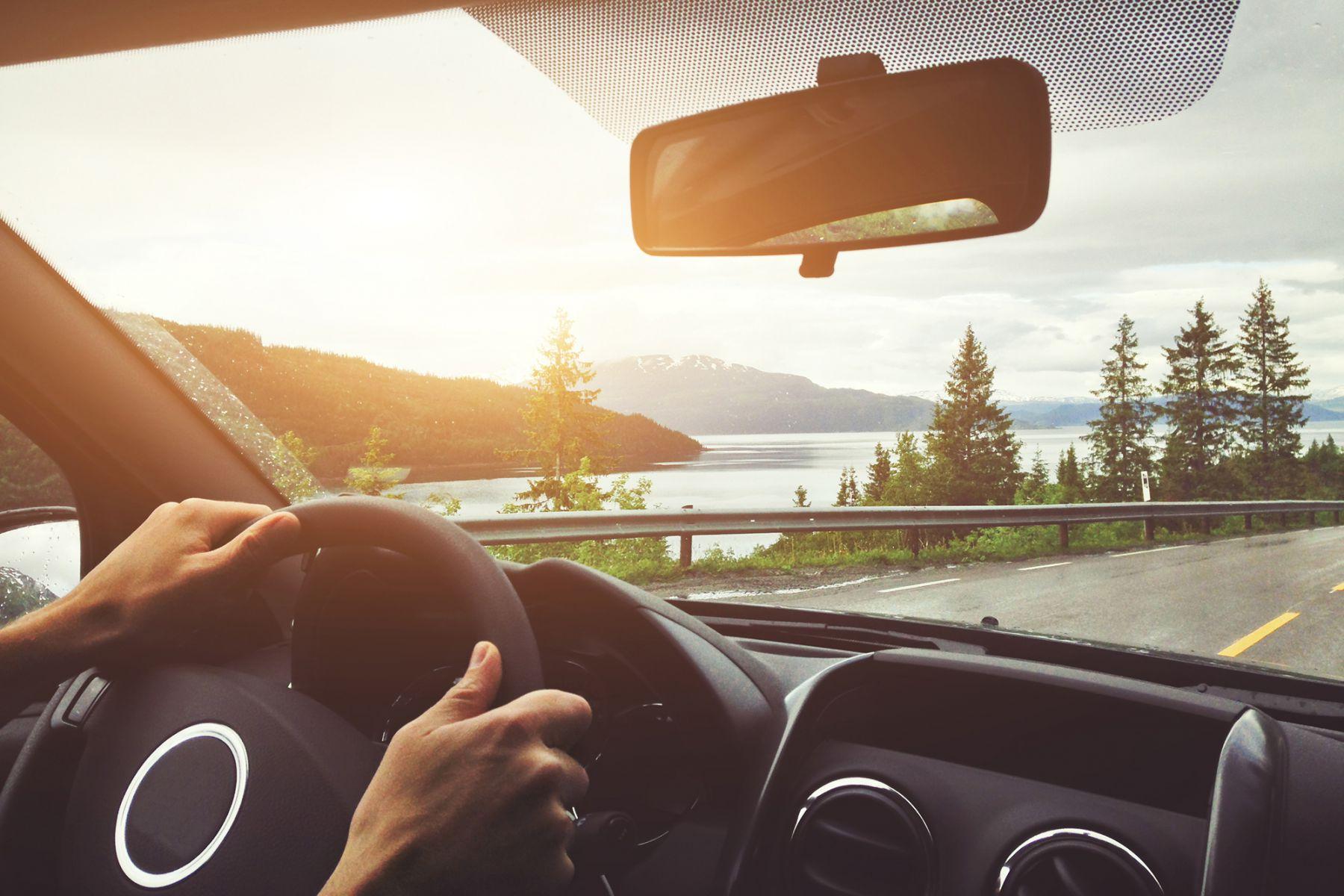 Omgeving tijdens Roadtrip Noorwegen